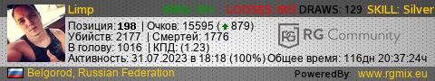 Статистика игрока STEAM_0:0:29476986